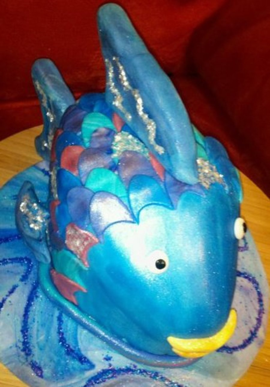 The Rainbow Fish  on Cake Central