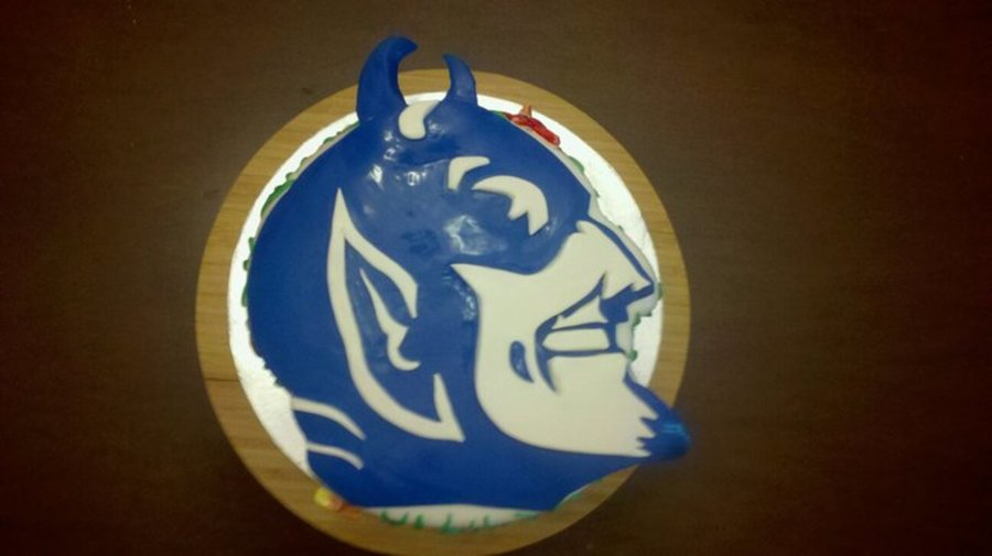 Duke Blue Devil on Cake Central