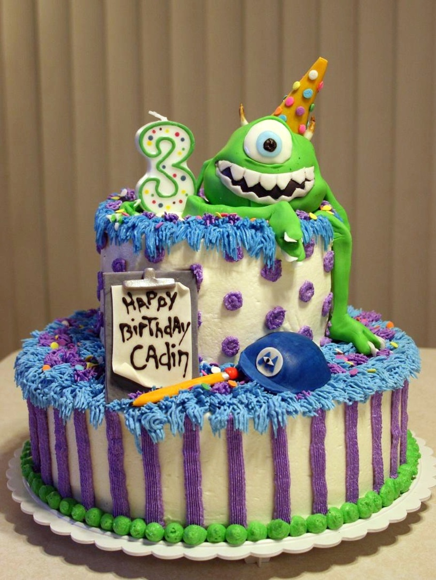 Monsters Inc Birthday Cake Recipe
