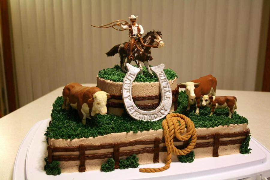 Rootin' Tootin' Roundup Cake on Cake Central