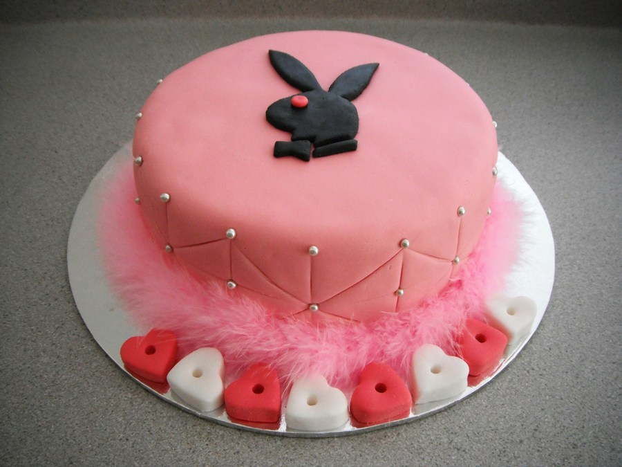 Playboy Cake on Cake Central