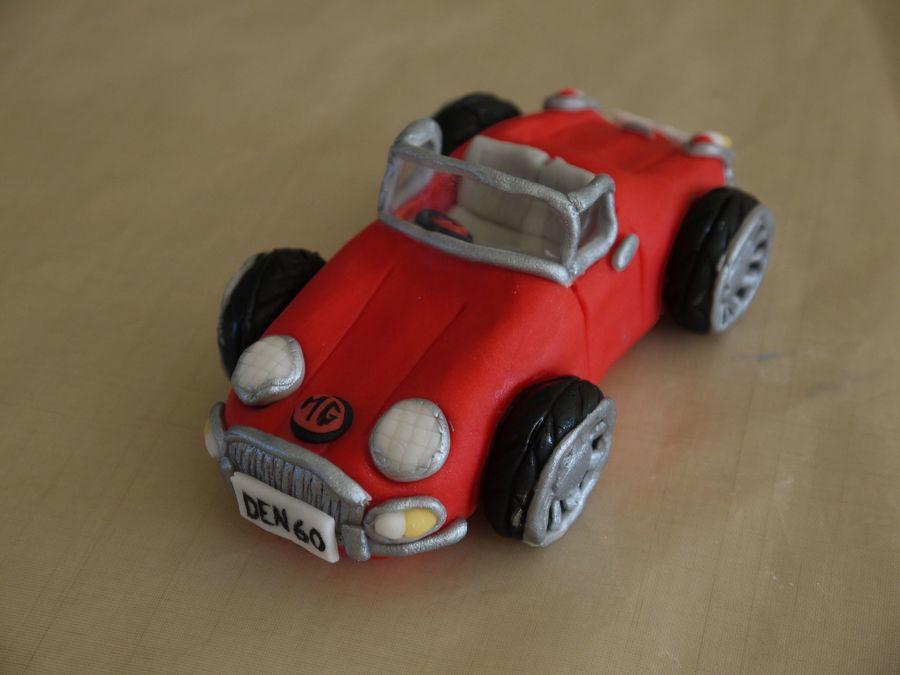 How To Make A Fondant Race Car