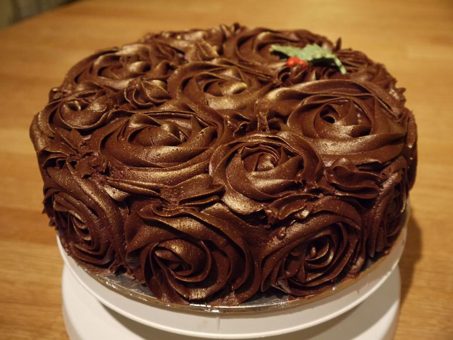 Chocolate Rose Cake Cakecentral Com