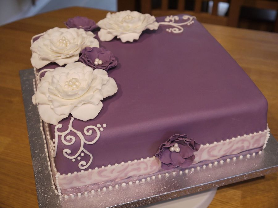 Fowers And Piping Cakecentral Com