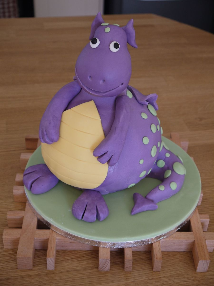 Dotty Dragon on Cake Central