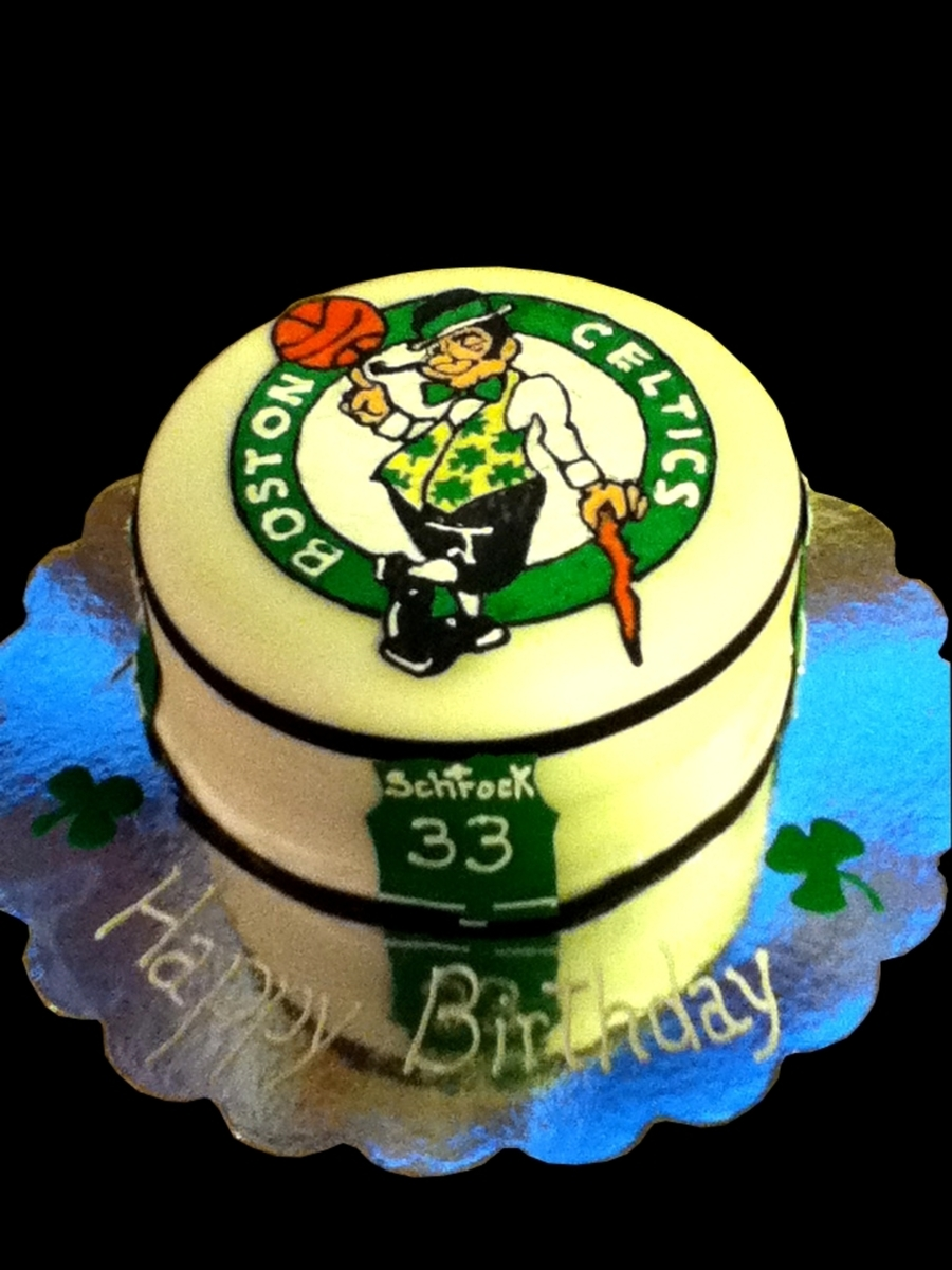 Boston Celtics on Cake Central