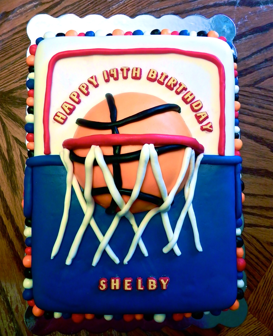 Basketball Bash on Cake Central