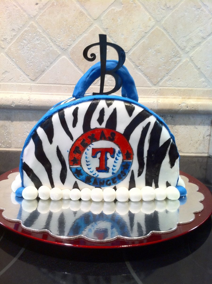Texas Rangers Purse on Cake Central