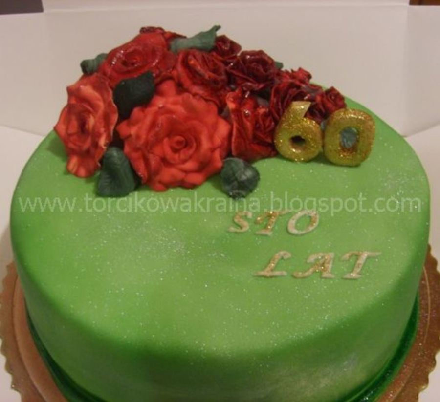 Cake With Rose on Cake Central