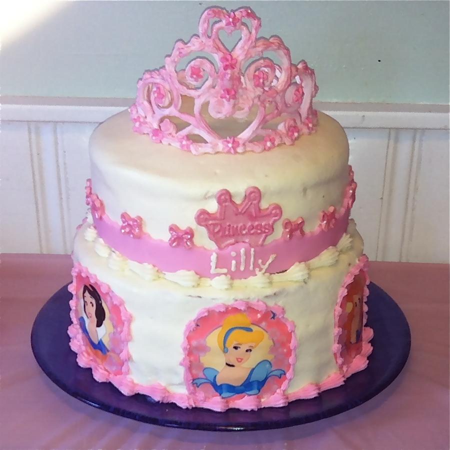 Happy Th Bday Princess Cake