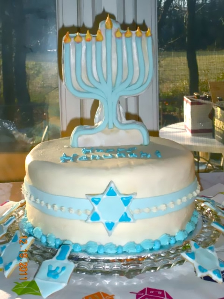 Happy Hanukah on Cake Central