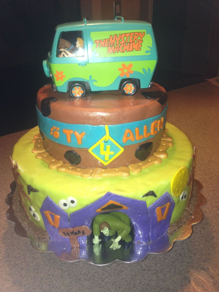 Scooby Doo Cake Decorating Kit