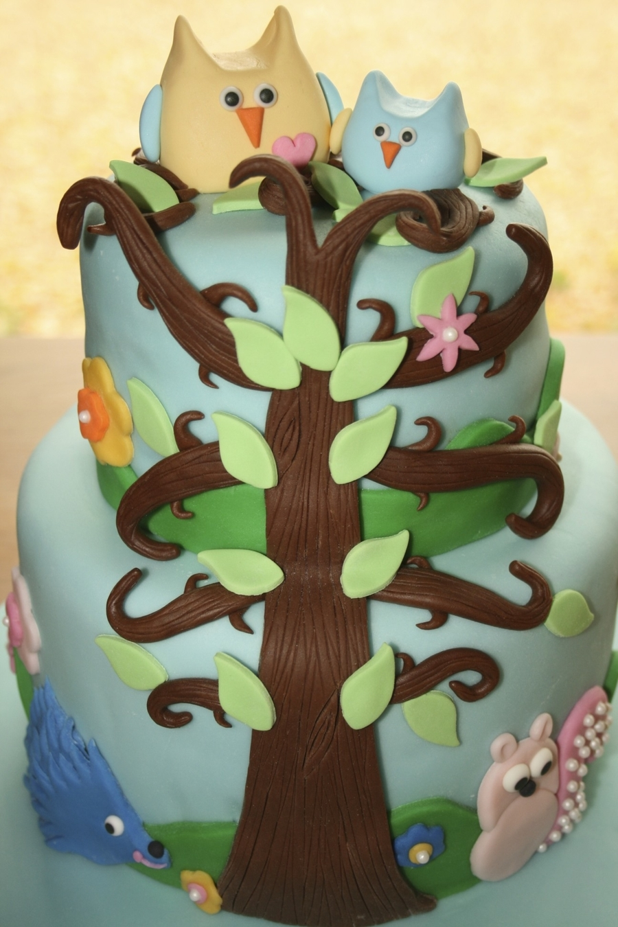Happi Tree on Cake Central