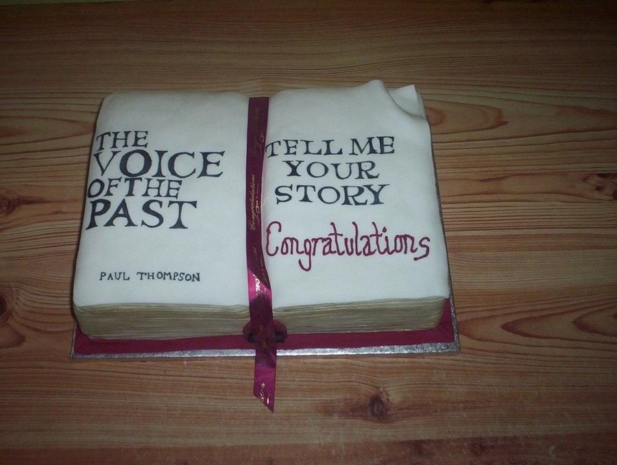 Open Book Cake - CakeCentral.com