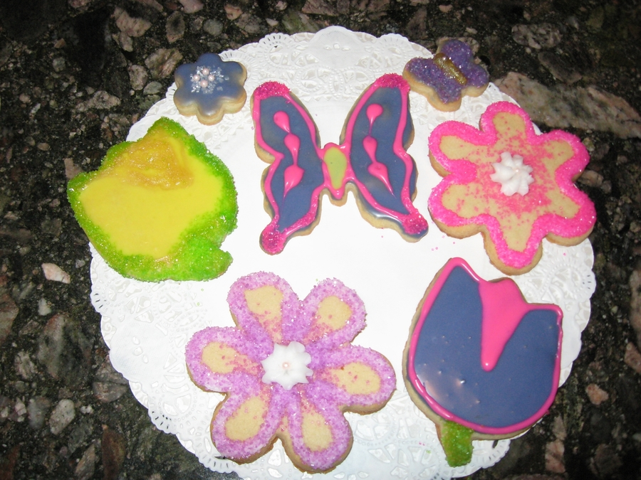 Spring Sugar Cookies on Cake Central