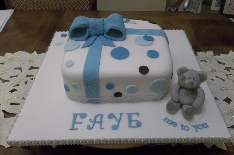 Tatty Ted Present Cake on Cake Central