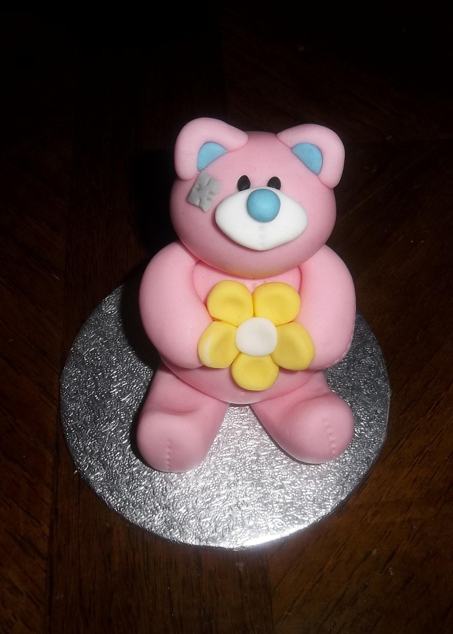 Blue Nose Teddy on Cake Central