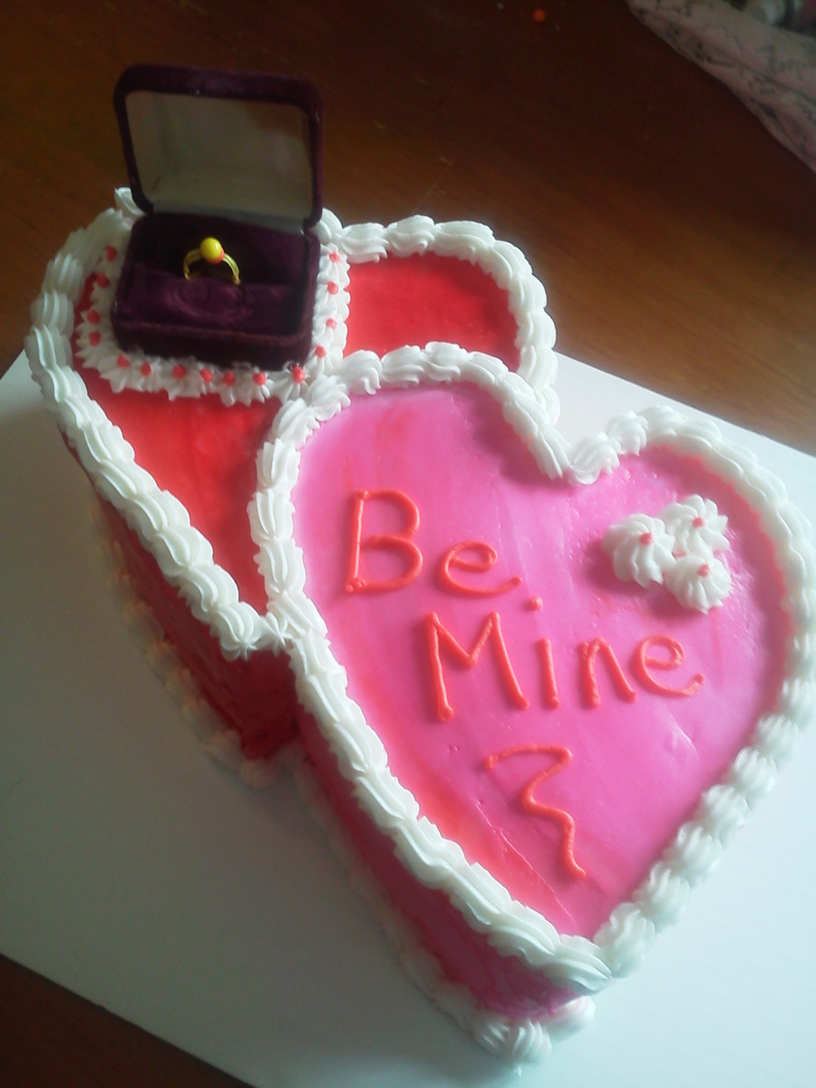 Valentines Cake on Cake Central