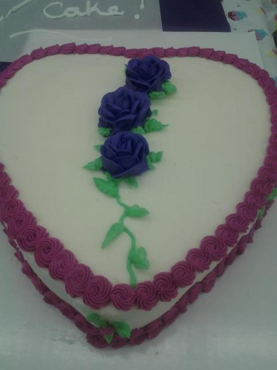 My Valentine Heart on Cake Central