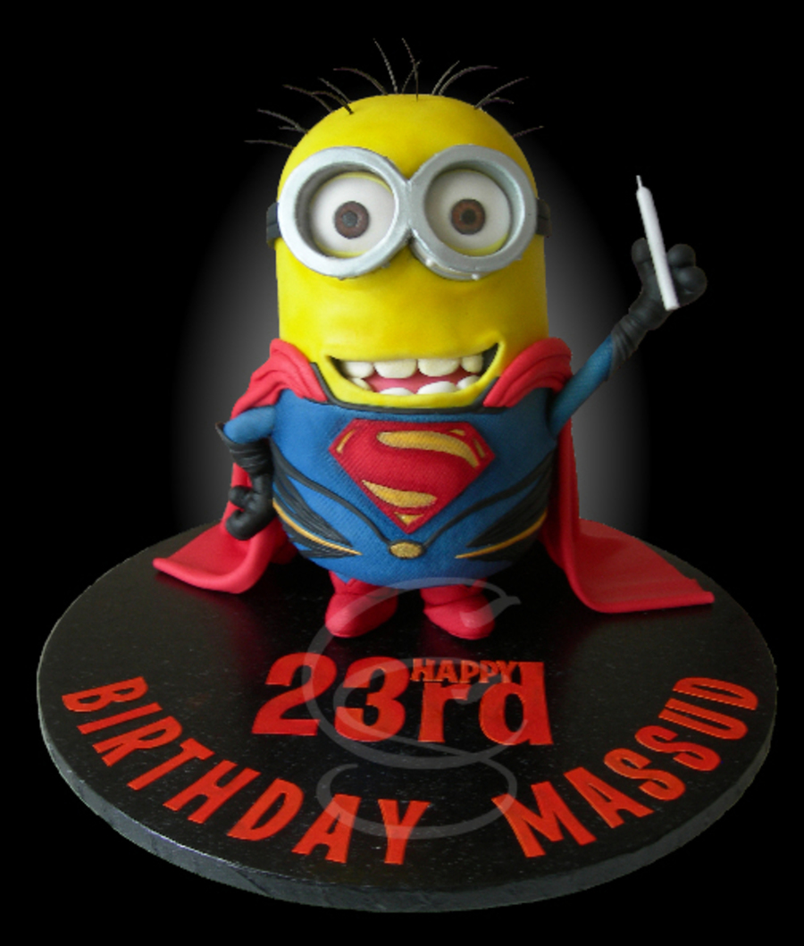 Minion Of Steel on Cake Central