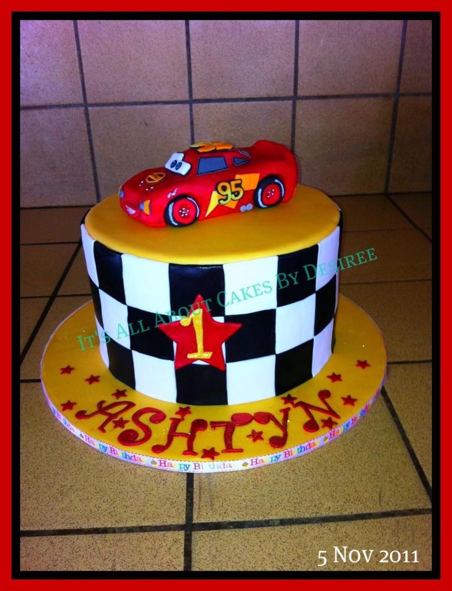Cars Lightning Mcqueen Cake CakeCentralcom