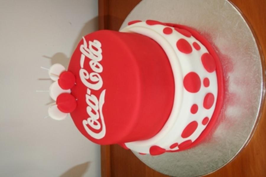 Enjoyable Coca Cola Birthday Cake Cakecentral Com Funny Birthday Cards Online Necthendildamsfinfo