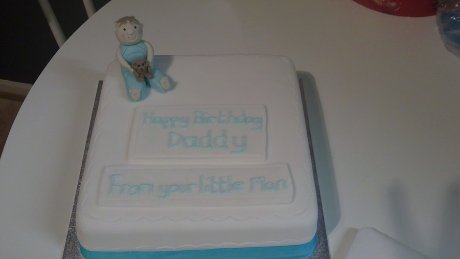 Happy Birthday Daddy Cake Cakecentral
