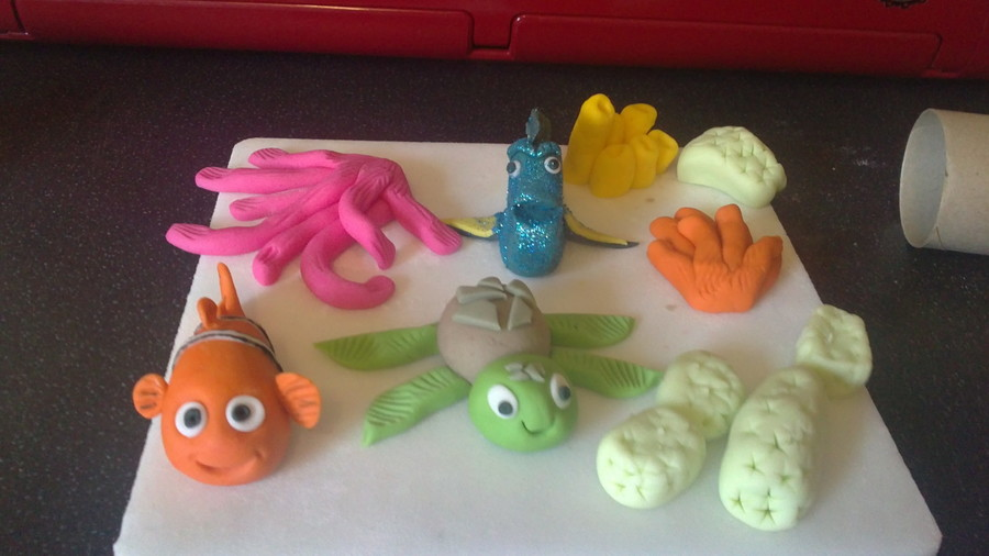 Finding Nemo Cake Topper on Cake Central