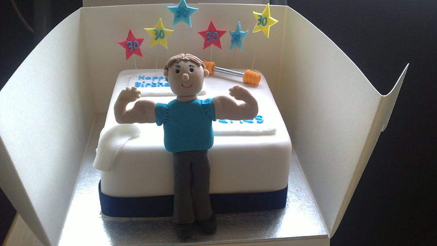 Muscle Man Cake Cakecentral Com