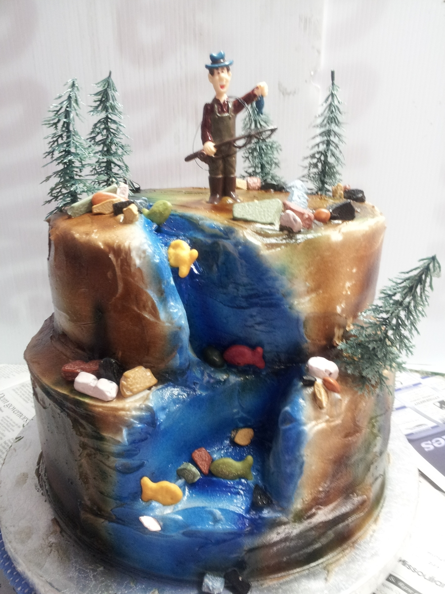 Gone Fishing on Cake Central