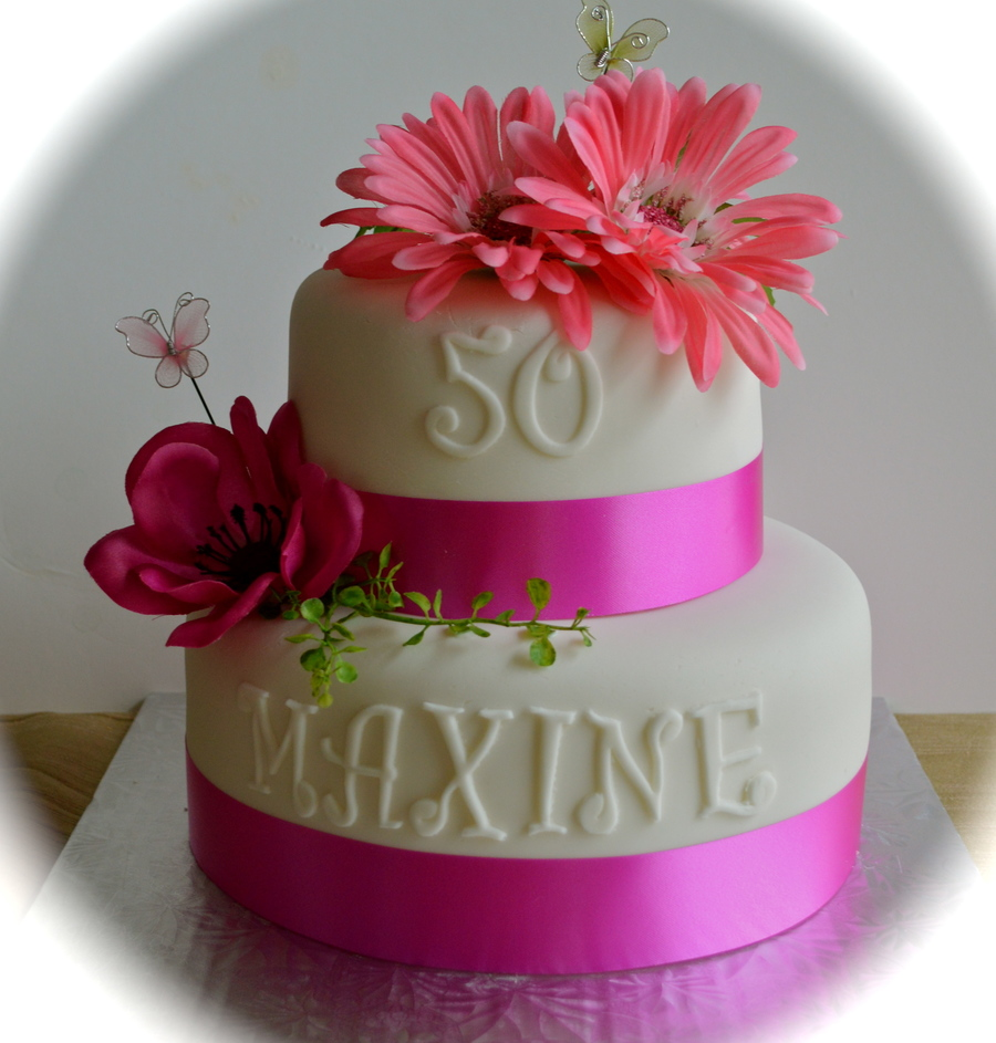 Happy 50th Birthday Maxine Cakecentral Com