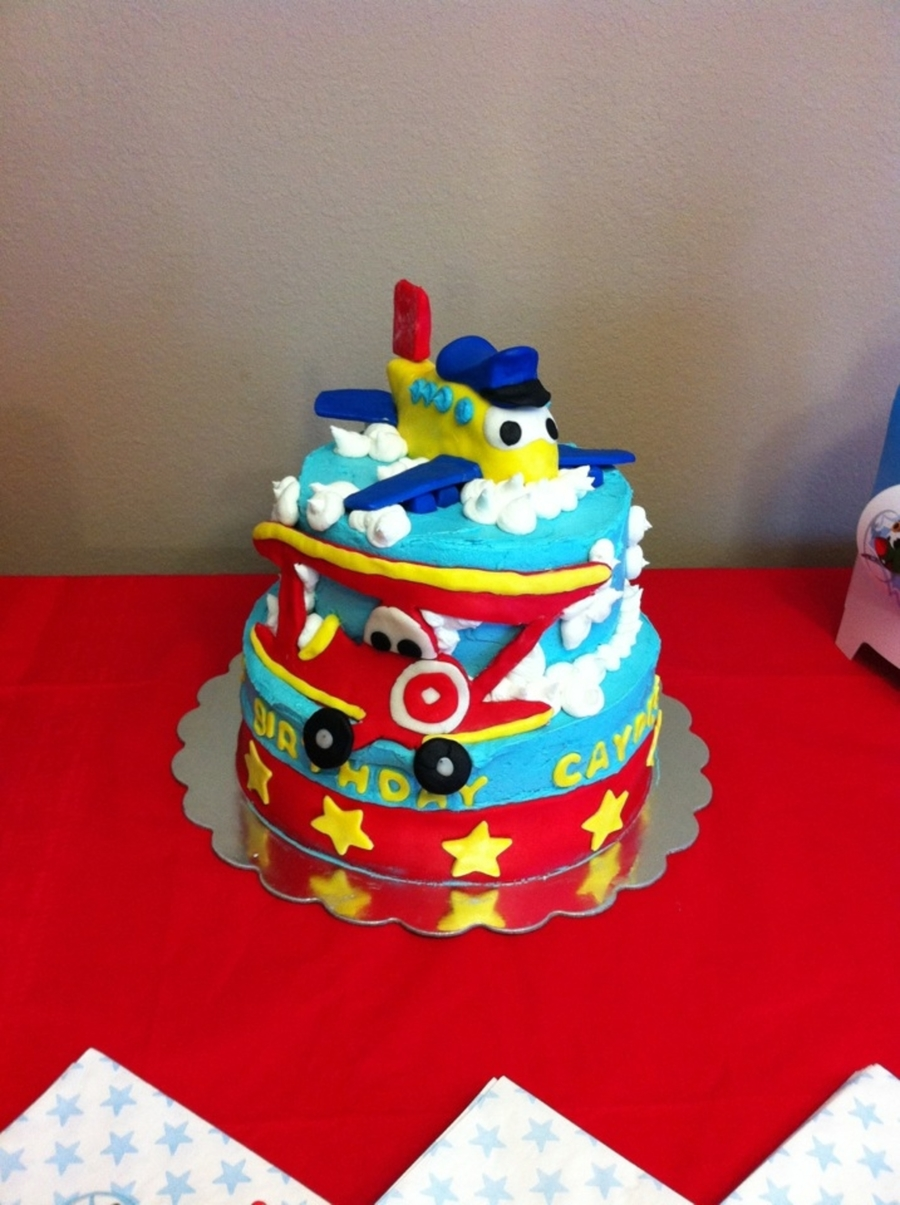 Little Jet Plane on Cake Central