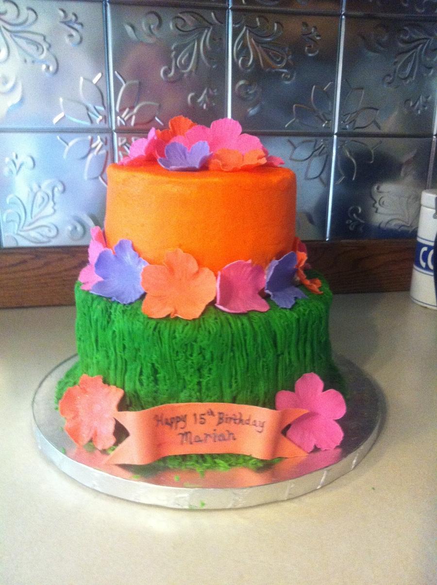 grass-skirt-cake-daddy-daghter-lick