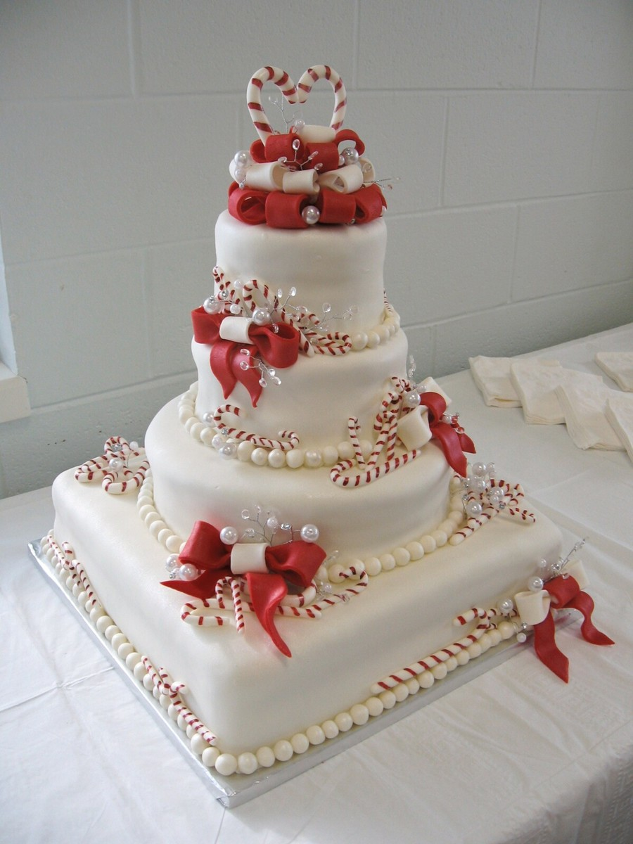 Christmas Cake With Fondant And Decorating Recipes