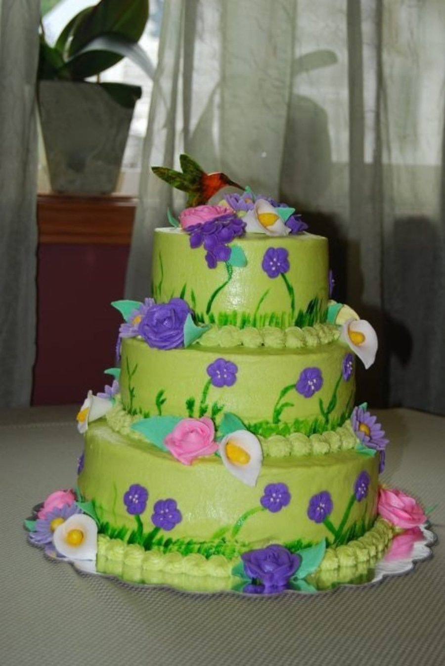 Hummingbird Birthday Cakecentral