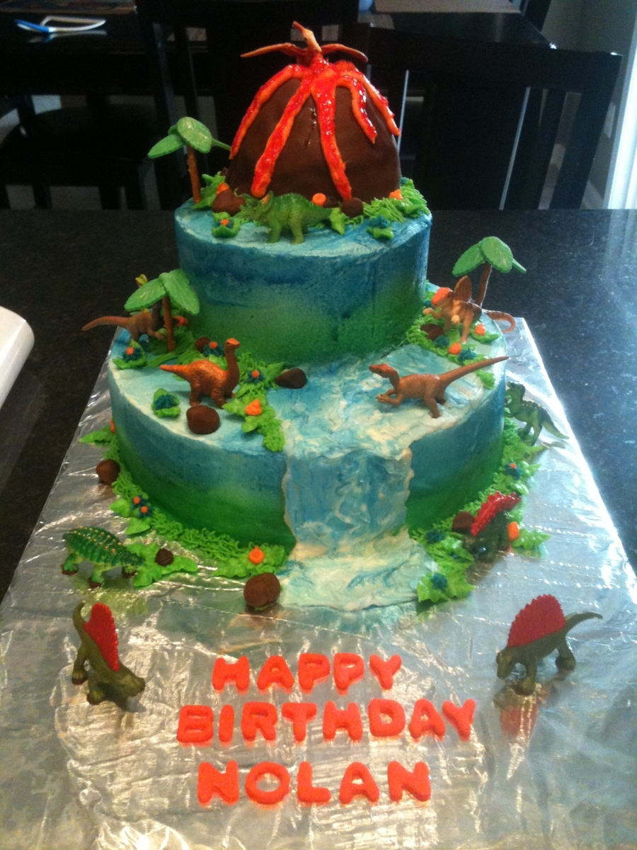 Homme Mmade Dinosar Cake Ideas