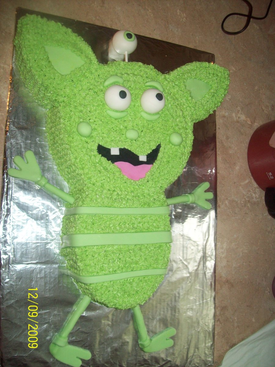 My Little Green Monster on Cake Central