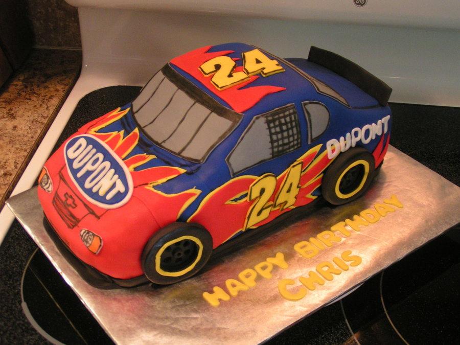 Jeff Gordon Win Birthday Cake