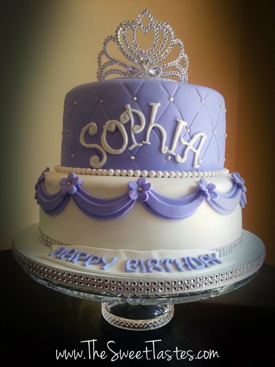Sofia The First Birthday Cake Cakecentral Com