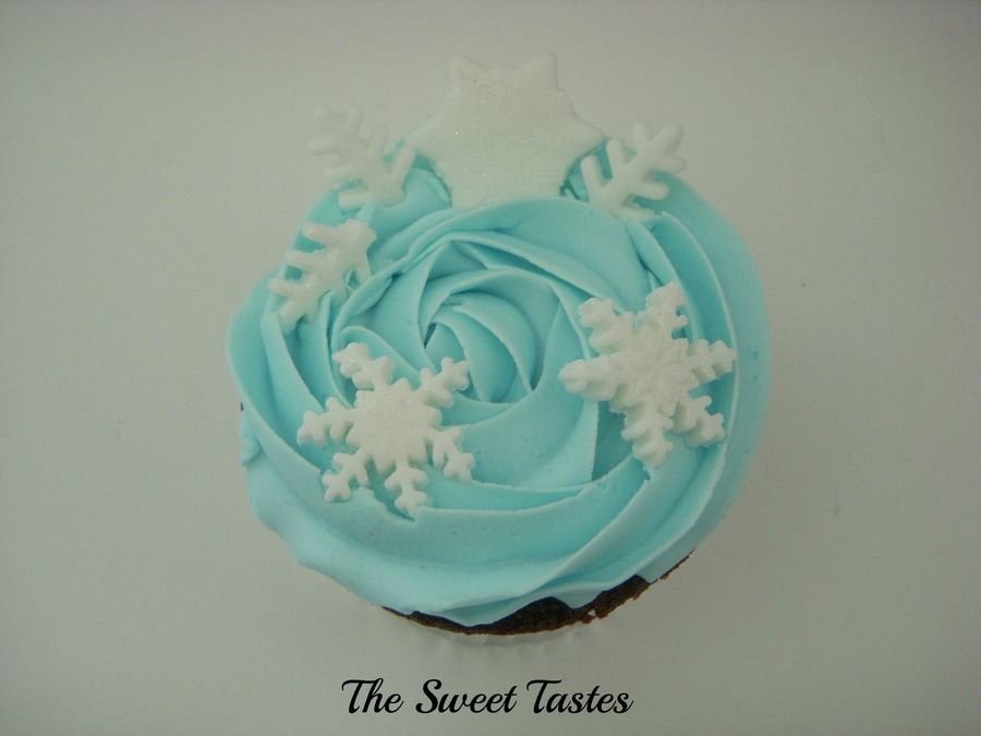 Party Favor Cupcake Winter Wonderland Theme  on Cake Central