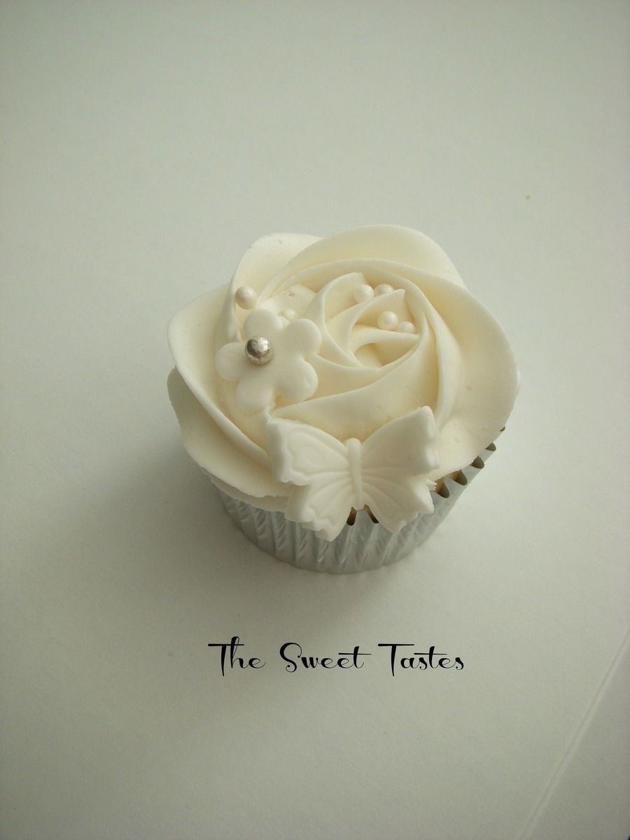 Wedding Cupcake on Cake Central