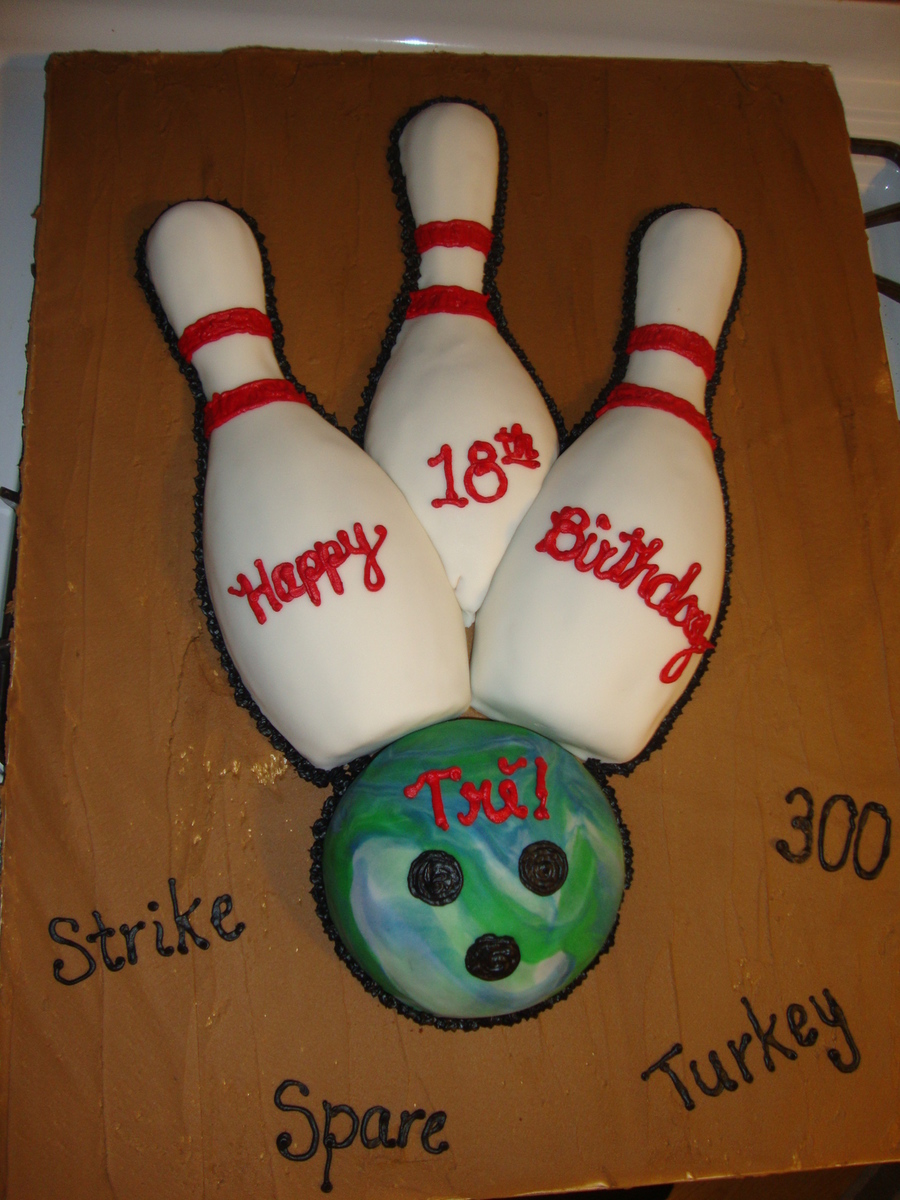 Bowling Cake on Cake Central