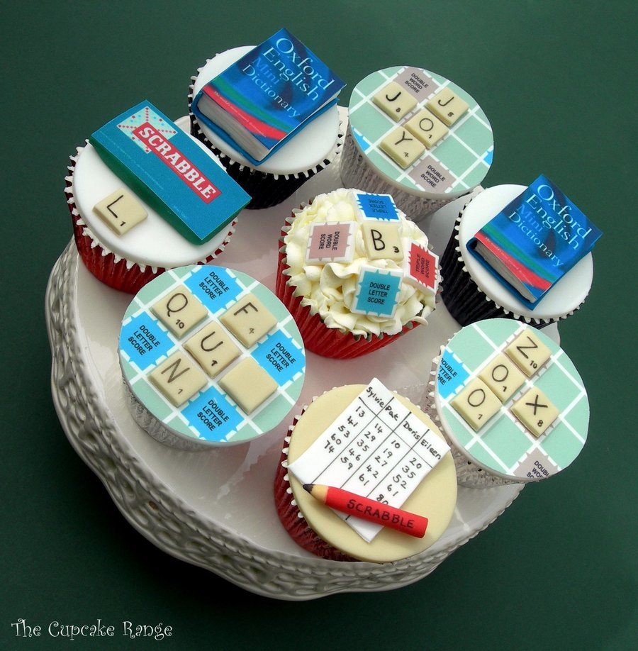 Scrabble Board Game Cupcakes Cakecentral Com