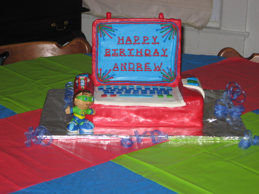 Super Why And The Super Duper Computer Cakecentral Com