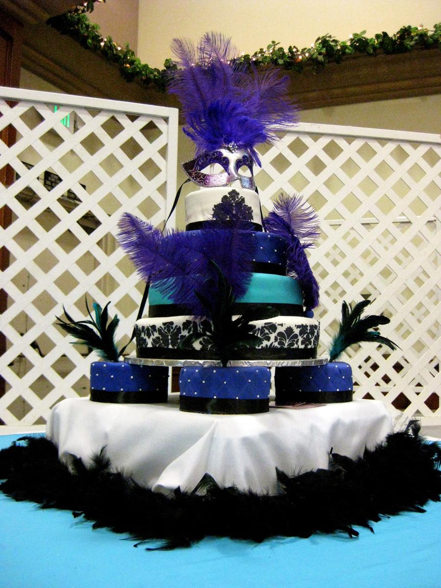 Quinceanera Cakes Masquerade