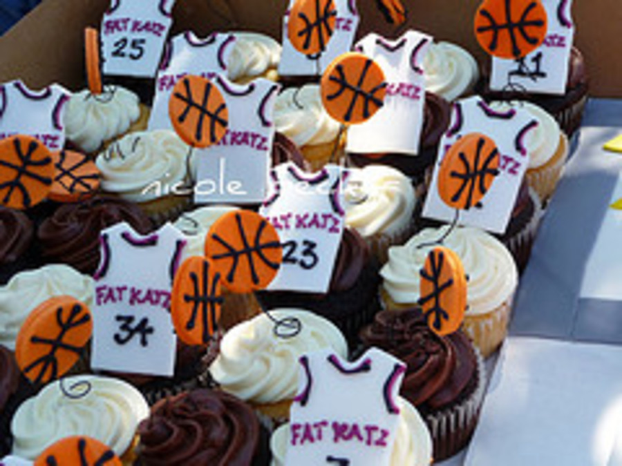 Basketball Cupcake Toppers Cakecentral Com