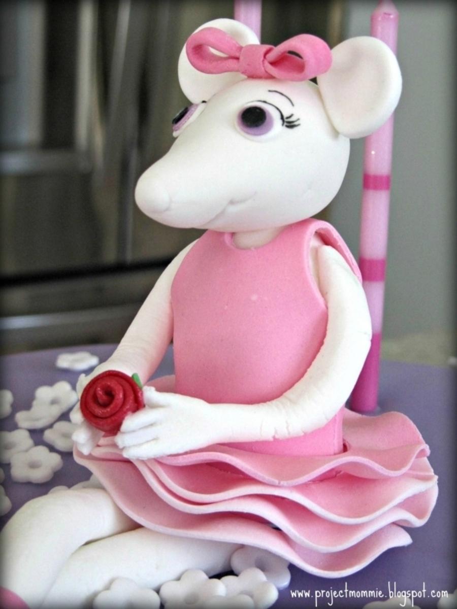 Angelina Ballerina Cake Cakecentral Com