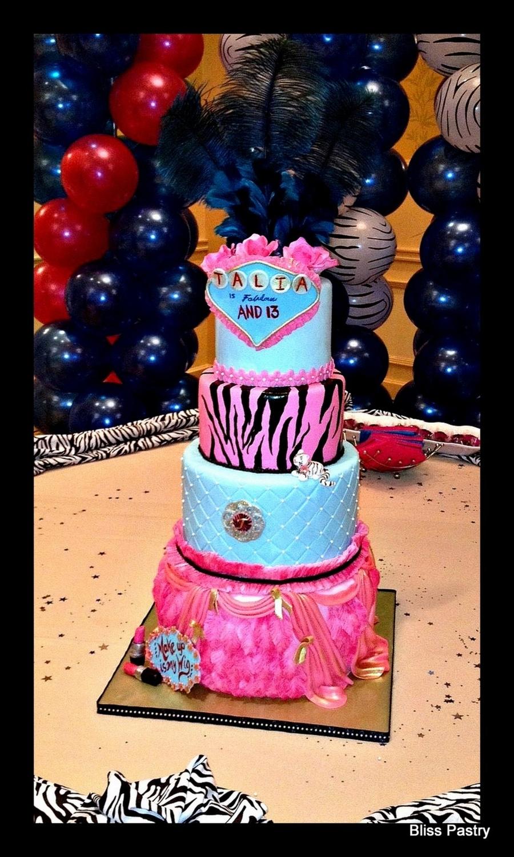 Wondrous Talias Dream 13Th Birthday Cake Cakecentral Com Funny Birthday Cards Online Kookostrdamsfinfo