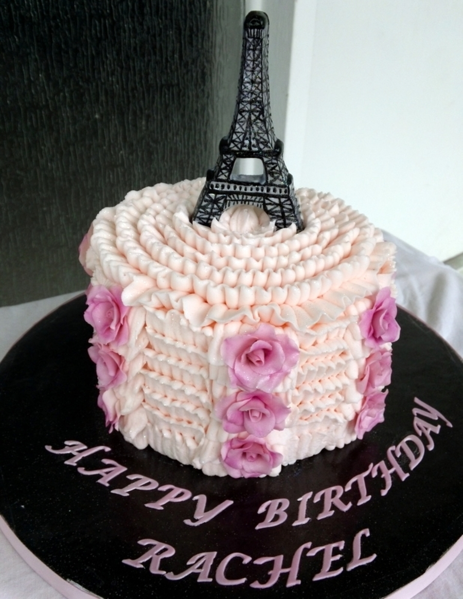 Pink Ruffles on Cake Central
