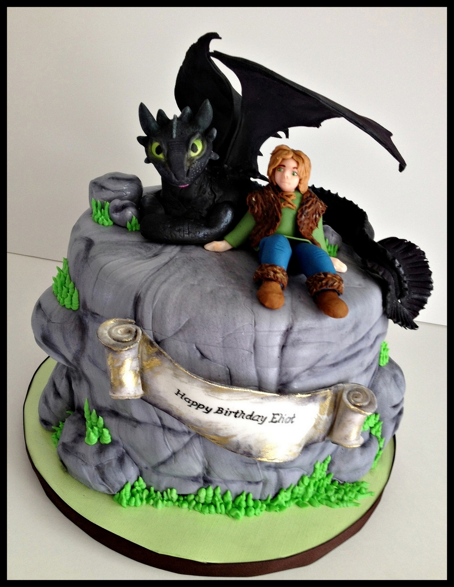 Awesome How To Train Your Dragon Cakecentral Com Personalised Birthday Cards Veneteletsinfo